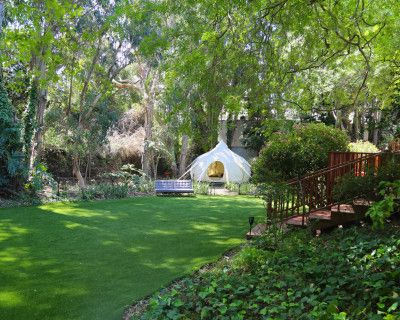 Amazing Zen Artistic House With Huge Magical Yard And Rainbow Lights In Pacific Palisades, Pacific Palisades, CA