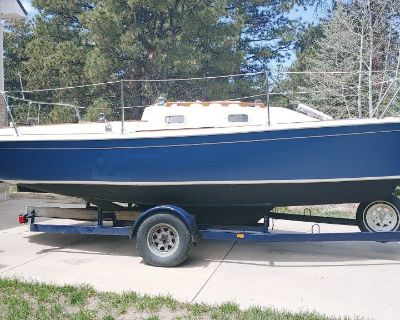 1989 Quickstep 21 Sailboat & Trailer For Sale near Denver