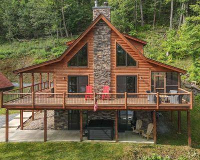 NEW! Lake Area Home w/ wood fireplace & A/C. - Mountainside