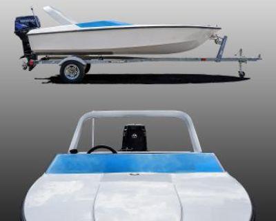 2021 Custom 15-ft Mini Speedboat