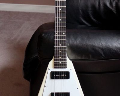 Pre-wired Gibson Flying V Pickguard with Seymour Duncan SP90s