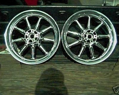 Harley Electraglide Road King Flh Ulta Wheels Polish