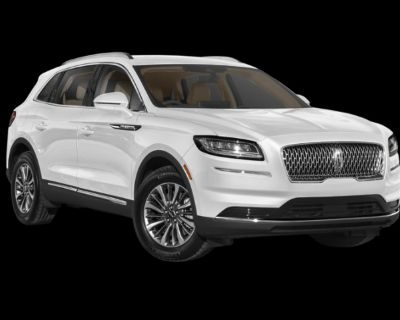 New 2021 Lincoln Nautilus Reserve With Navigation