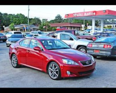 2008 Lexus IS IS 250 RWD Automatic