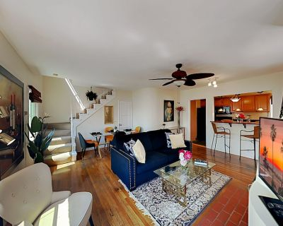 Steps to Manhattan Beach | Stylish Ocean-View Haven, Fireplace & 2-Car Garage - Sand Section