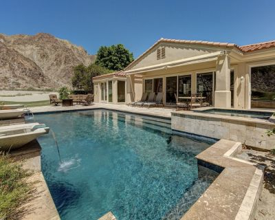 4 bedroom PGA West Spacious and Stunning Oasis by the Mountain - La Quinta