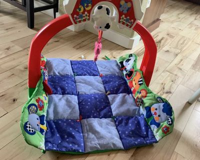 Musical Fisher Price infant play mat. $3