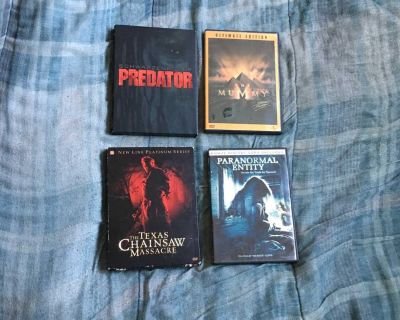 Lot Of 4 Horror Movie DVDs