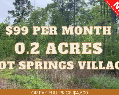 0.2 Acres for Sale in Hot Springs Village, AR