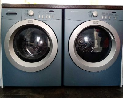 Frigidaire front load washer and dryer set
