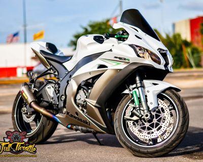2017 Kawasaki Ninja ZX-10R ABS Supersport Houston, TX