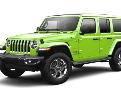 New 2021 JEEP Wrangler Unlimited Sahara With Navigation