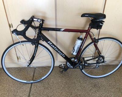 "Raleigh 27"" , 16-speed, touring bike"