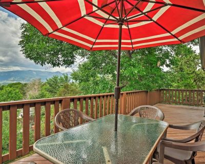 NEW! Lovely CO Springs Home: Mtn Views, BBQ & Deck - Central Colorado Springs