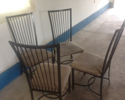 4chairs set steel