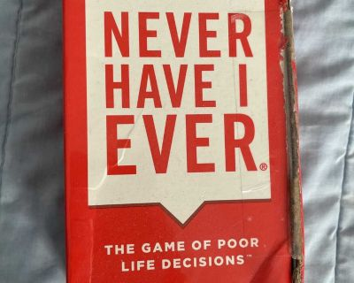Never Have I Ever card game (17+)