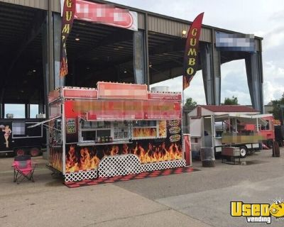 8' x 18' TURNKEY Business Concession Trailer Mobile Kitchen