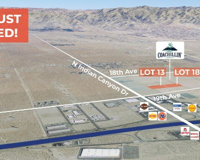 3.27 - 6.59 AC at Coachillin' Canna Business Park REDUCED!