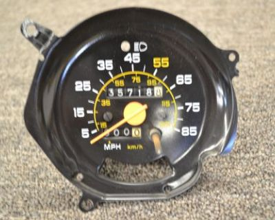 80-92 Plastic Needle Chevy Gmc Truck Suburban Blazer Speedometer Gauge