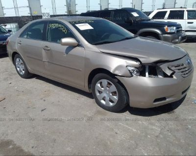 Salvage Gold 2008 Toyota Camry