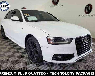 2015 Audi A4 2.0T Premium Plus quattro