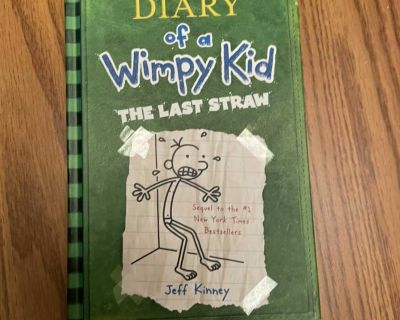 Diary of a Wimpy Kid - The Last Straw - hardcover