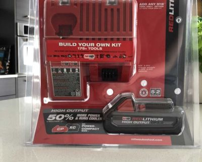 Milwaukee Battery and Charger