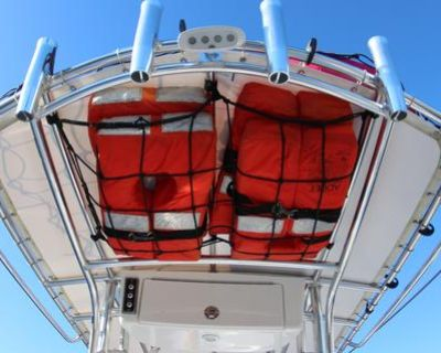 Life Jacket Under T-Top Storage by Sea-Cure Marine