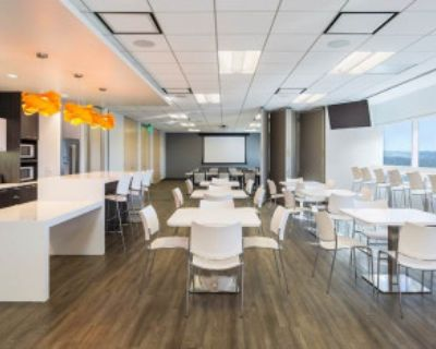 Training Room for 40 people in Downtown Concord (Ideal location) with view for miles, Concord, CA