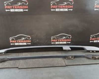 rear tail ligth  driver and passanger side  and the roof rack rails