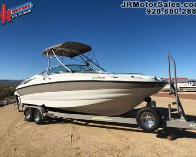 Crownline Deck Boat with 496 MAG