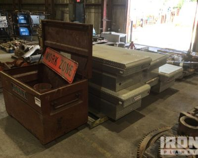 Lot of (6) Tool Boxes