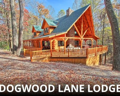 Stunning, 18-Person Lodge, near Old Man's Cave! Family-Friendly! - Benton Township