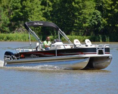 2011 Sun Tracker 21 Fishing Barge