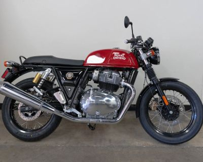 2022 Royal Enfield Continental GT Rocked Red