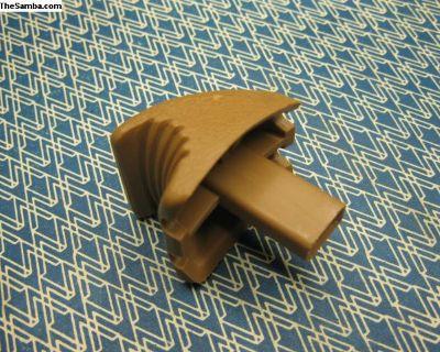 113881633E NOS tan knob seat back release