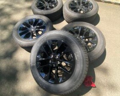 California - 2021 20 inch High Altitude Wheels & Tires for sale - new, only 1000 miles