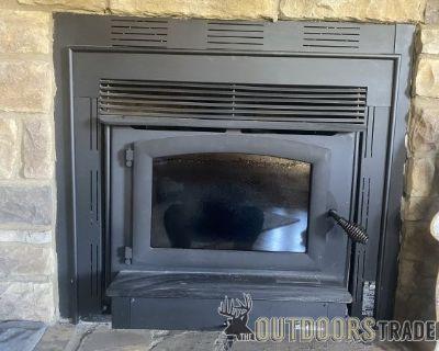 FS Buck Stove Model 74ZC Wood Burning Stove LIKE NEW!
