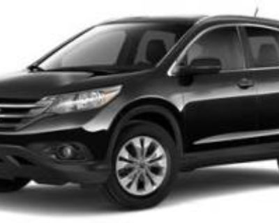 2012 Honda CR-V EX-L with Rear Entertainment System 4WD