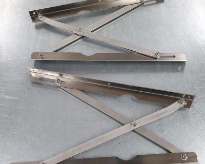 68-73 Westfalia Pop Top Hinges -Stainless Steel