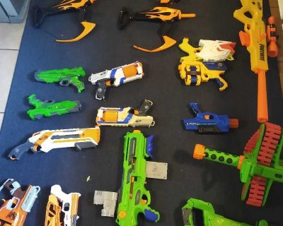 Lot of mostly nerf