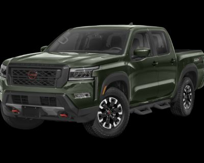 New 2022 Nissan Frontier PRO-4X 4WD Crew Cab Pickup