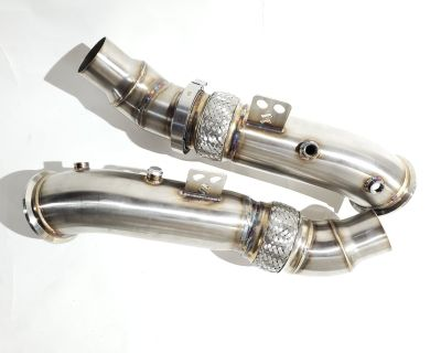 Twisted Tuning A90/2020+ Toyota Supra B58 Stage 1/2 Modular Catless Downpipes