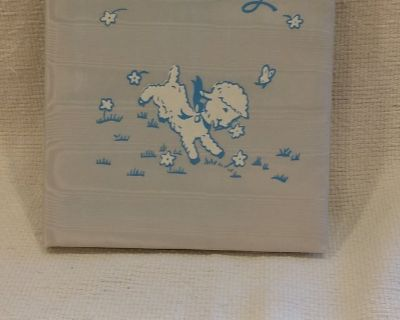 VINTAGE - 1949 - Sanitoy Blue Baby Book