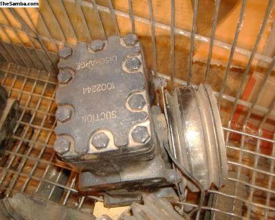 VW Bug AC pump compressor 68-79 yr
