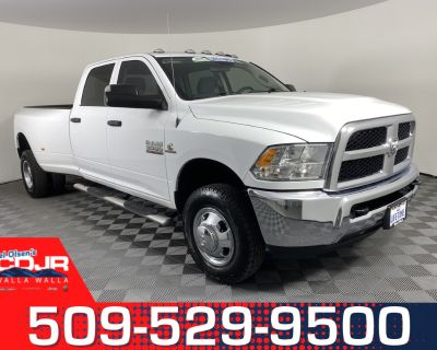 Pre-Owned 2018 Ram 3500 Tradesman 4WD 4D Crew Cab