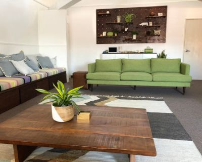Spacious, light filled loft space with comfortable seating in the heart of Silverlake, Los Angeles, CA