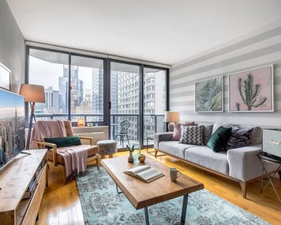 Enchanting 1BR near Times Sq w/ Indoor pool + Gym by Blueground - Midtown