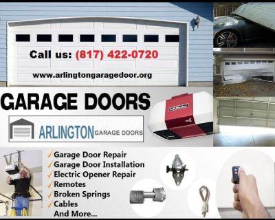 Start $25.95 - Top Most Rated Garage Door Repair 76006, TX