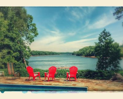 Swimming pool . Dock. Incredible View! Pontoon boat avlb - Gainesville